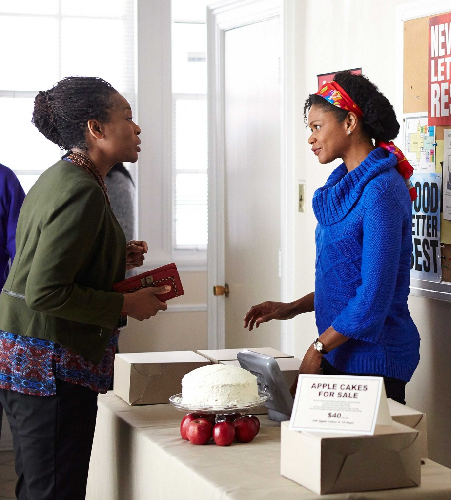 Angela Logan (left) Kimberly Elise.