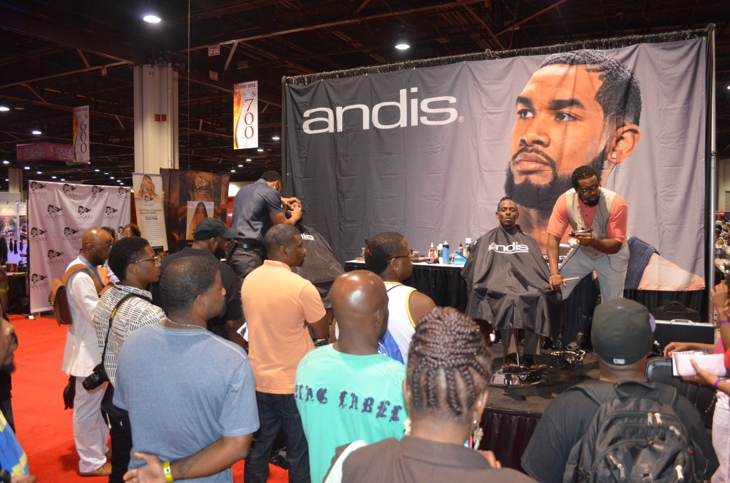 Featuring Andis in at Atlanta Bronner Bros event