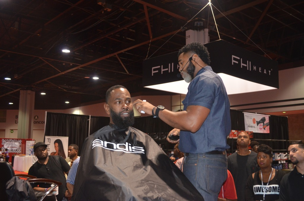 Featuring Andis and FHI Heat at Atlanta Bronner Bros 2014