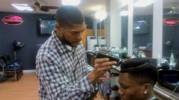 Fundraiser haircuts provided by The Grooming Blueprint
