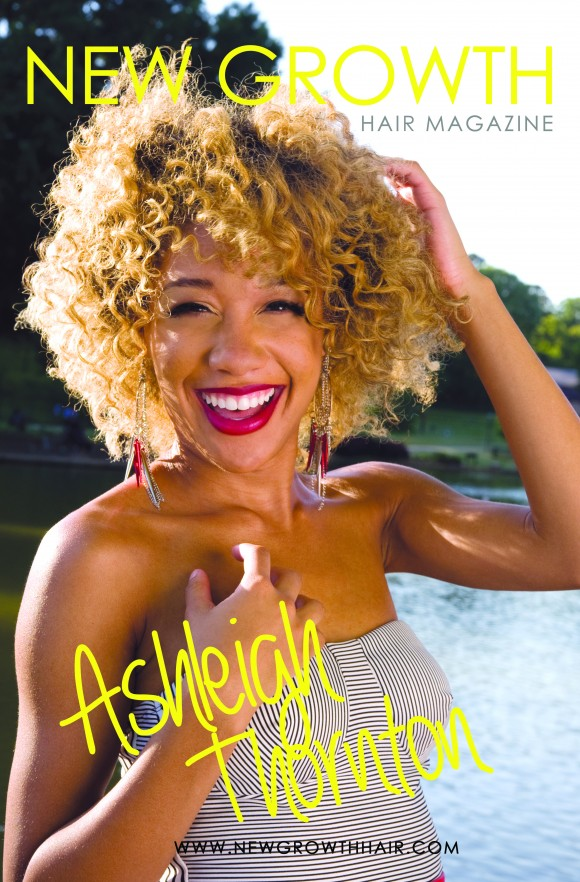 Ashleigh Thornton is the feature for New Growth's Aug. 2013 Issue